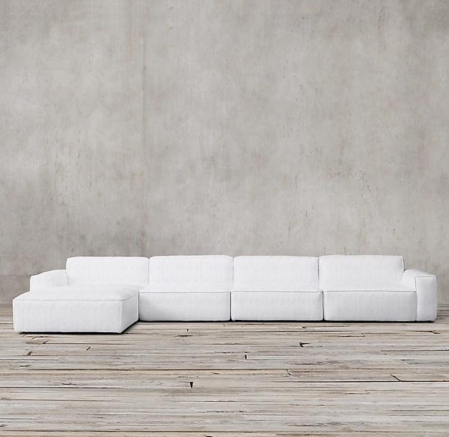 Como Modular Sofa Chaise Sectional