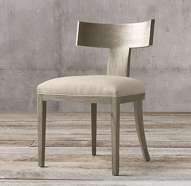 Tremendous Contemporary Klismos Fabric Side Chair Unemploymentrelief Wooden Chair Designs For Living Room Unemploymentrelieforg