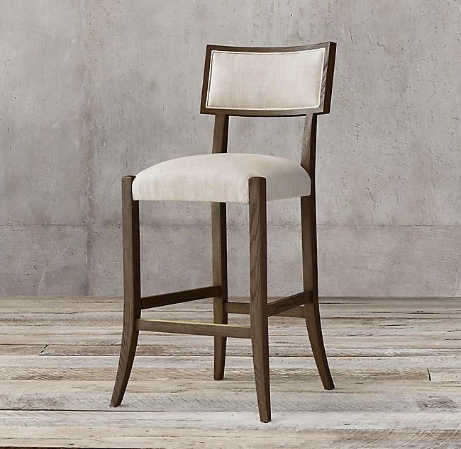 Super Classic Klismos Fabric Stool Inzonedesignstudio Interior Chair Design Inzonedesignstudiocom