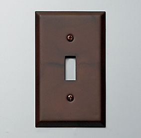 Metal Light Plates Magnificent Switch Plates  Rh Decorating Design