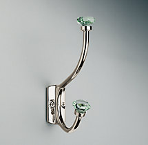 Traditional Green Glass Hook