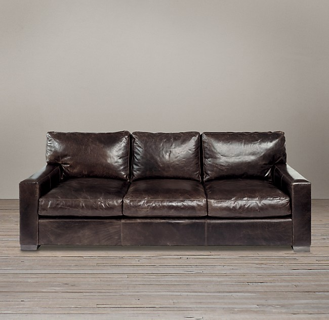 Maxwell Studio Leather Sofa