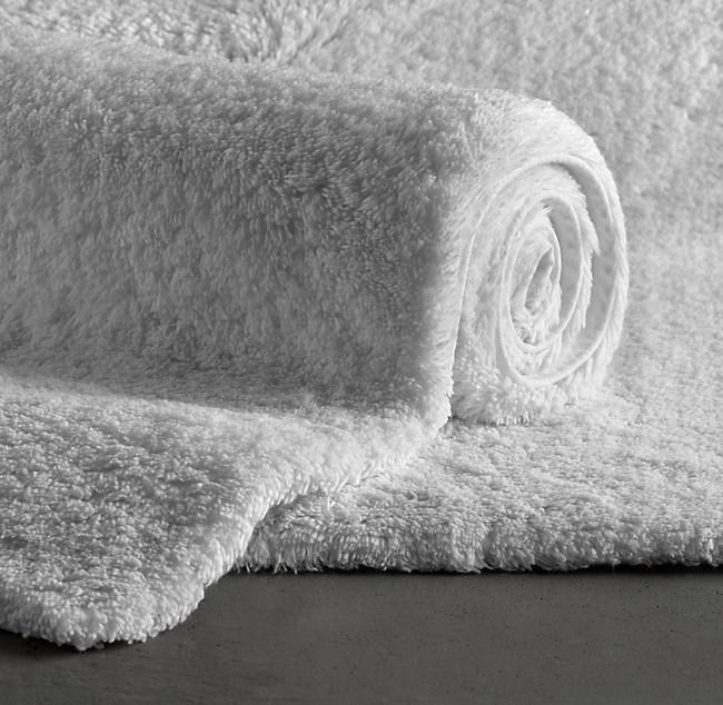 pile bath rug