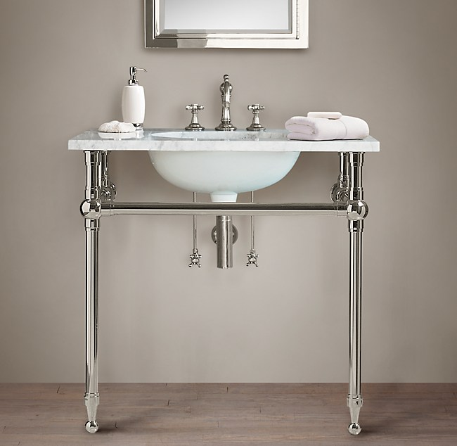Gramercy Single Metal Washstand