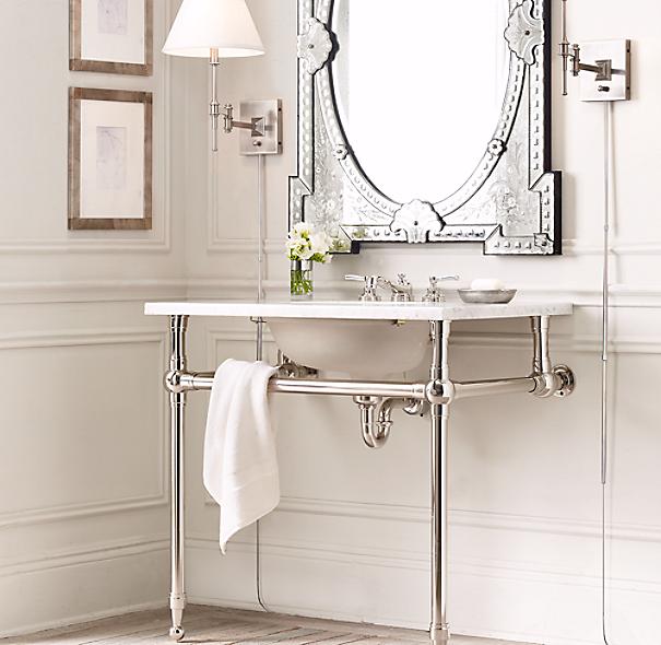 Gramercy Single Metal Washstand