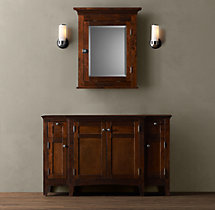 Cartwright Single Extra-Wide Vanity Base