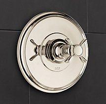 Lugarno Balance-Pressure Shower Valve & Trim Set (Backplate)
