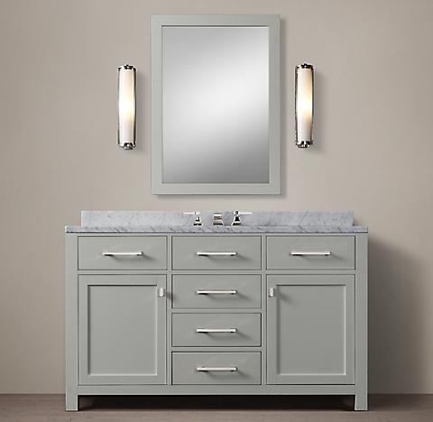 more finishes - Restoration Hardware Bathroom Vanity