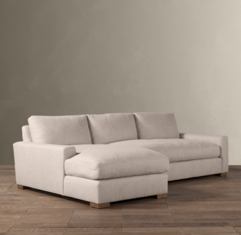 Maxwell LeftArm Sofa Chaise Sectional