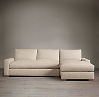preconfigured maxwell upholstered right arm chaise sectional