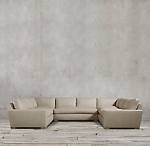 Preconfigured Maxwell Upholstered U-Sofa Sectional