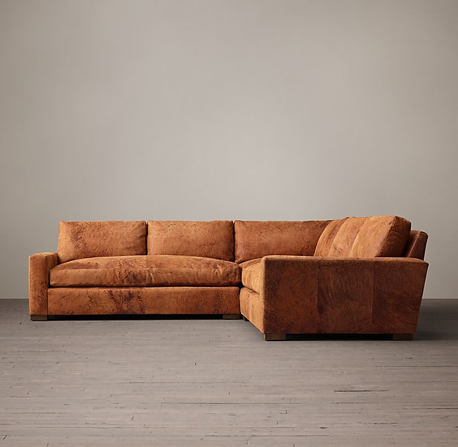 Superb Maxwell Leather Corner Sectional Evergreenethics Interior Chair Design Evergreenethicsorg