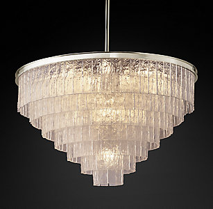Chandelier collections rh glac chandelier collection mozeypictures Images
