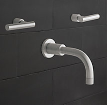 Spritz Lever-Handle Wall-Mount Tub Fill