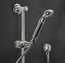 Vintage Wall-Mount Handheld Shower