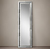 Antiqued Glass Molded Mirror