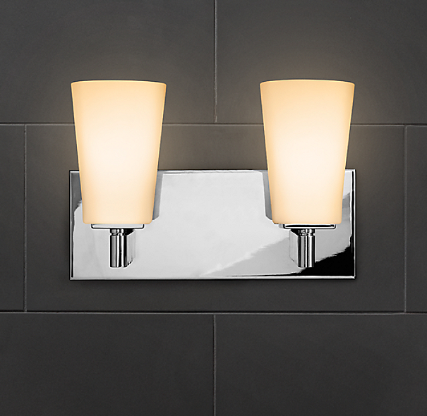Restoration Hardware Modern: Modern Double Sconce
