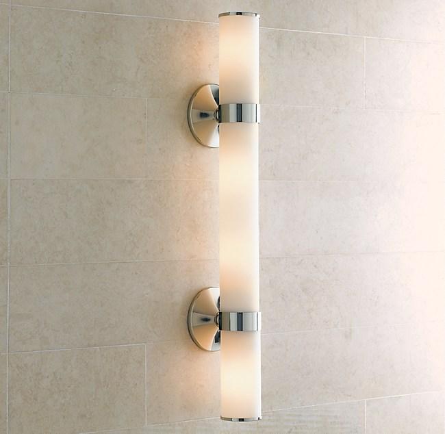 Bathroom Light Fixtures From Sleek To Shabby Chic Linda Merrill - Classic bathroom light fixtures