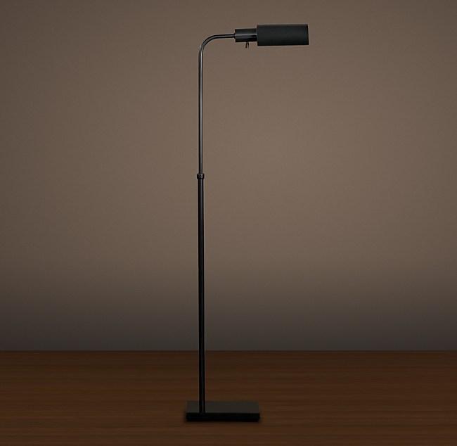 Classic Adjustable Task Floor Lamp, Vintage Task Floor Lamp