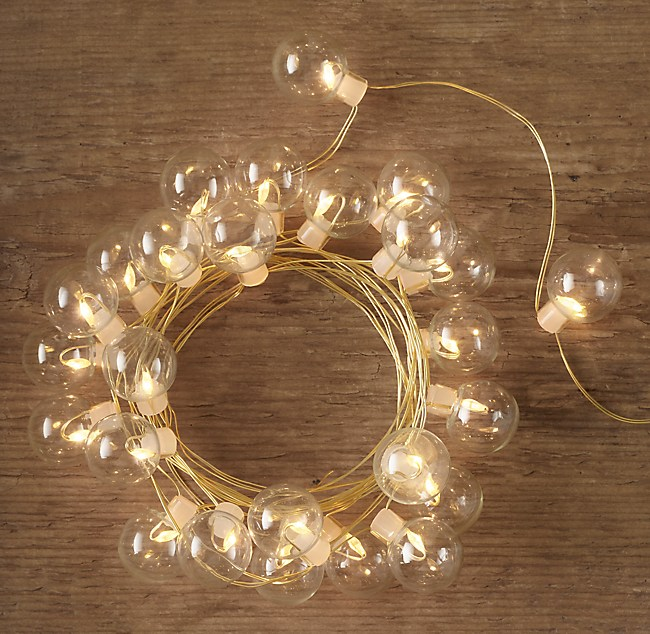 Northern Starlit Clear Glass String Lights