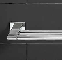 Modern Double Towel Bar
