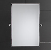Modern Traditional Pivot Mirror