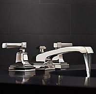 Dillon lever handle 8 widespread faucet for Restoration hardware bathroom faucets