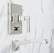 Dillon Balanced Pressure Tub & Shower Valve & Trim Set with Bath Spout