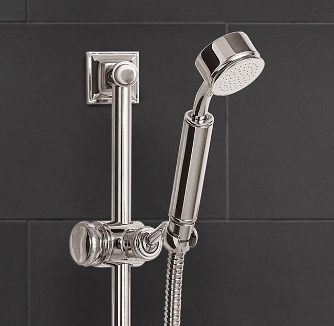 Wall-Mount Handheld Shower
