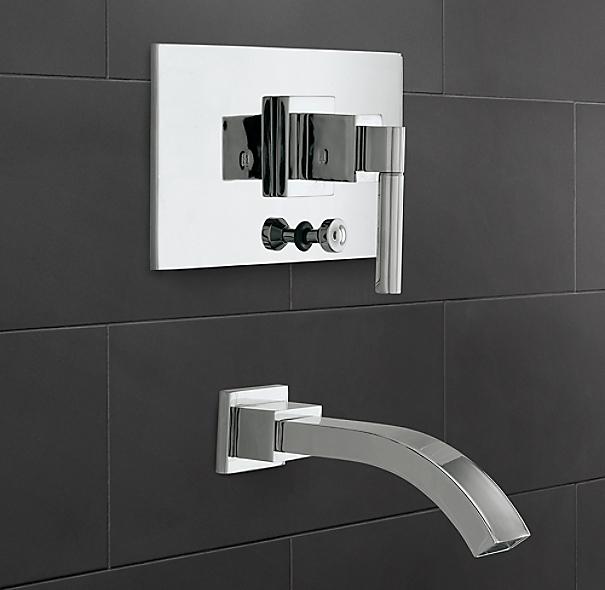 Modern Balanced Pressure Tub Amp Shower Valve Amp Trim Set