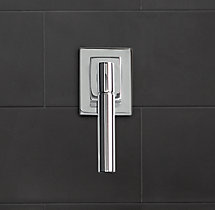 Modern Lever-Handle Multi-Port Diverter Valve & Trim Set for Balanced Pressure Systems