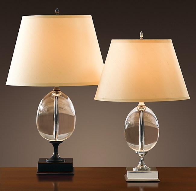 Empire Egg Table Lamp