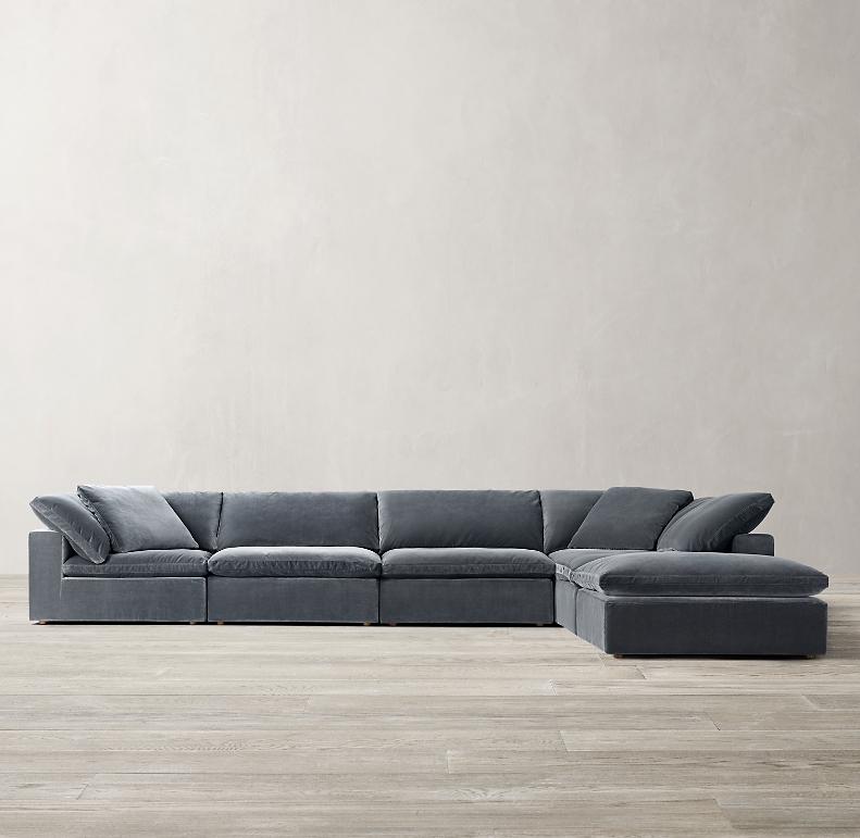 Cloud Modular Sofa Chaise Sectional