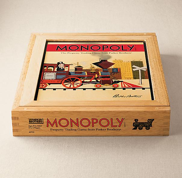 Wooden Box Monopoly 174