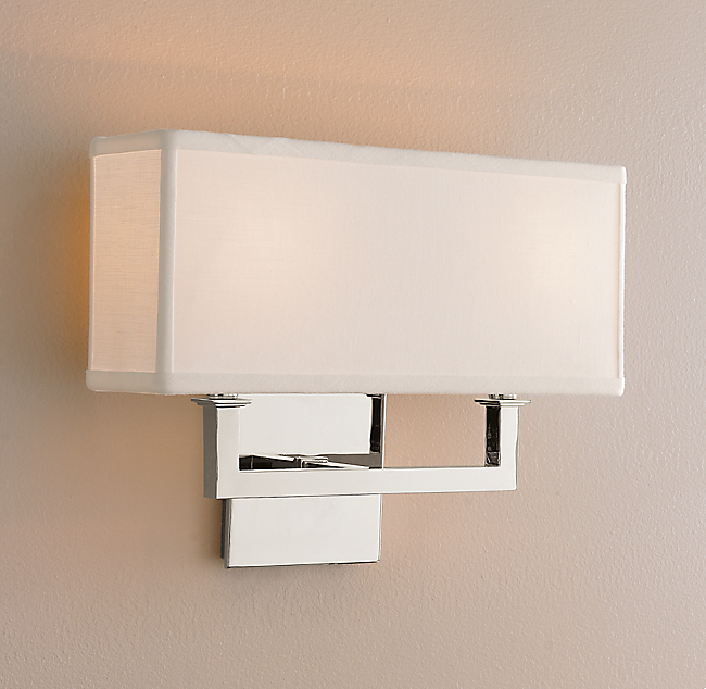 nolan double sconce - Double Sconce Bathroom Lighting