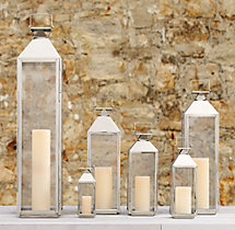 Yountville Lanterns - Polished Nickel