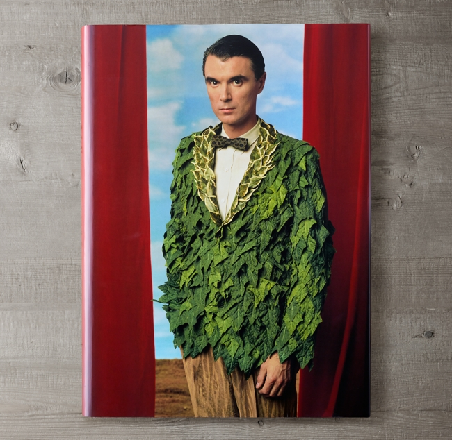 Annie Leibovitz: David Byrne Cover