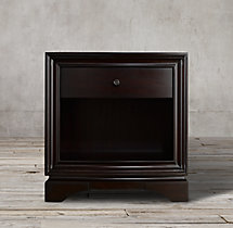 "Portman 1-Drawer 30"" Open Nightstand"