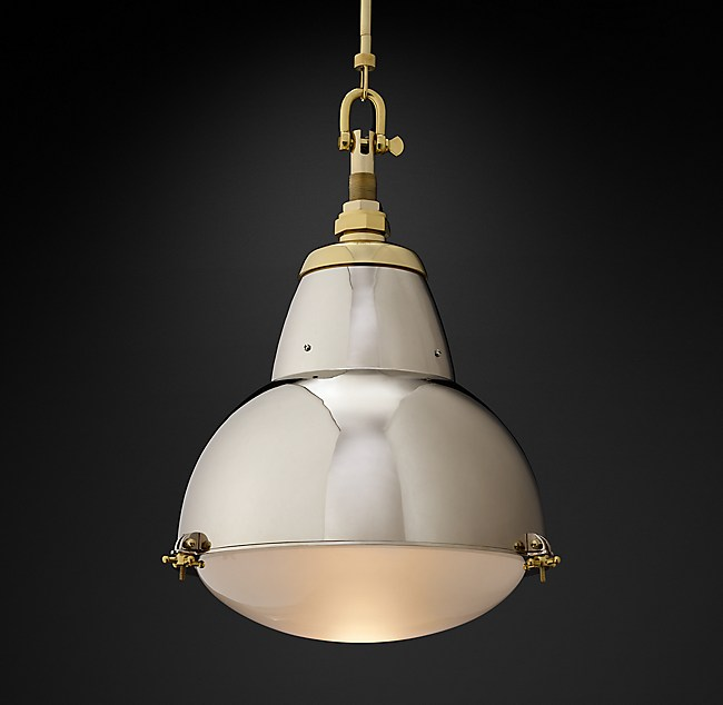 1950s Paris Street Lamp Pendant