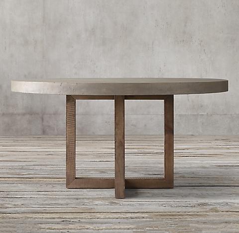 Outstanding Marble Concrete Tables Rh Uwap Interior Chair Design Uwaporg