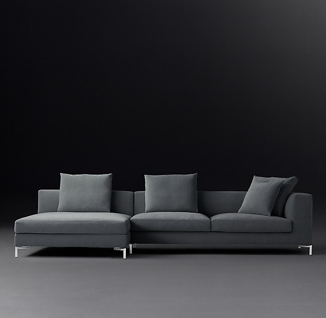 Fantastic Viggo Armless Sofa Chaise Sectional Download Free Architecture Designs Scobabritishbridgeorg