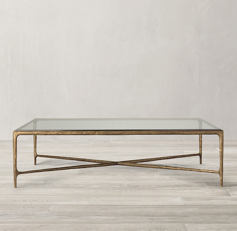 Thaddeus Glass Square Coffee Table