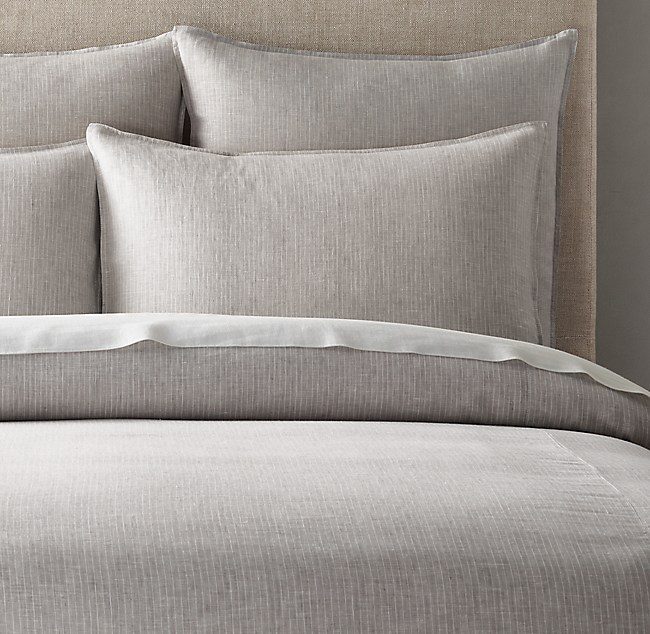 Find Many Great New Used Options And Get The Best Deals For Restoration Hardware Sonia Damask Duvet Cover Linen Cotton Twin Pool At Online