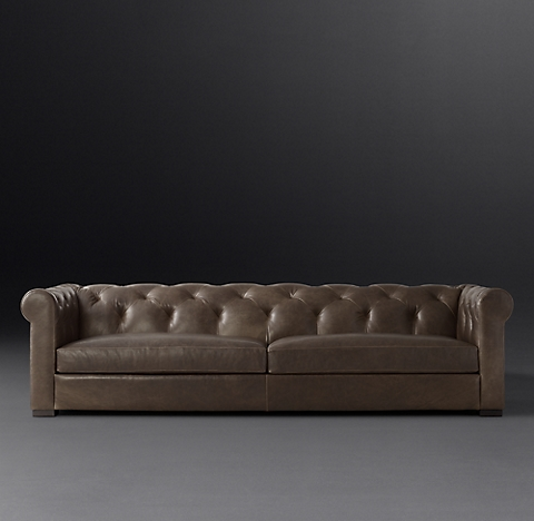 Modena Chesterfield Leather Sofa Rh