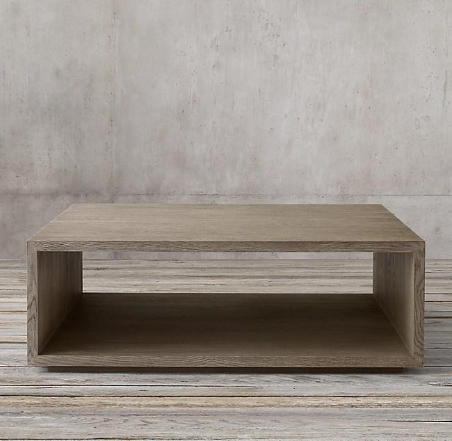 Cloud Modular Open Square Coffee Table
