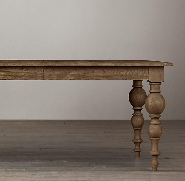 Grand Baer Rectangular Extension Dining Table