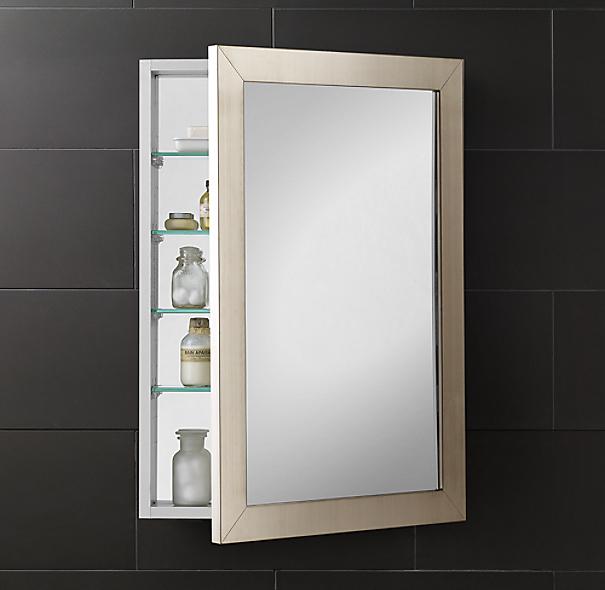 Wide Frame Medicine Cabinet