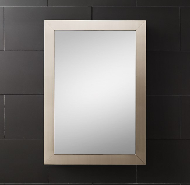 Wide-Frame Medicine Cabinet
