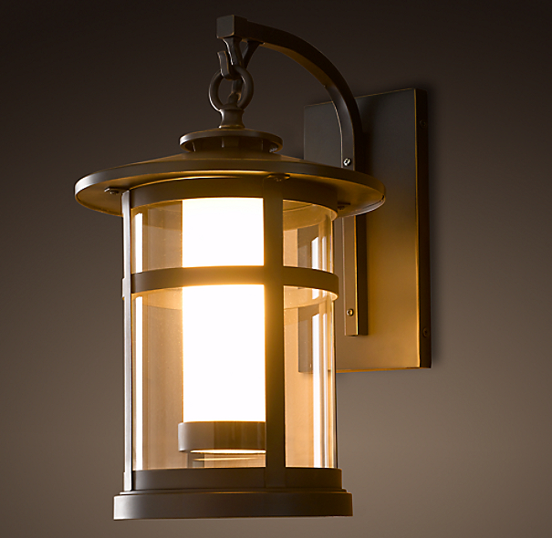 Restoration Hardware Festoon Lighting: Rutherford Sconce