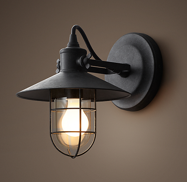 Restoration Hardware Light Fixture Sale: Harbor Sconce